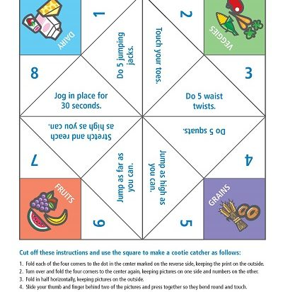 Cootie Catcher Activity