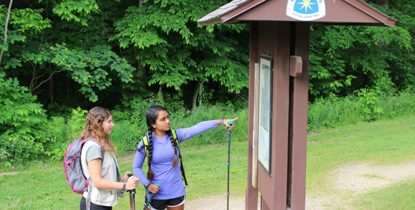 A Family Treasure Hunt Along the North Country Trail