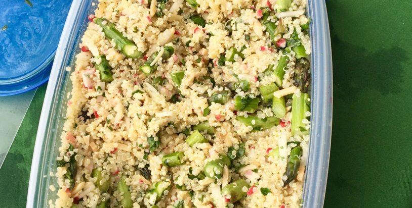 Asparagus & Quinoa Salad